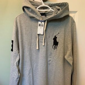 [BNWT] Men's Polo Ralph Lauren Polo Hoodie Large